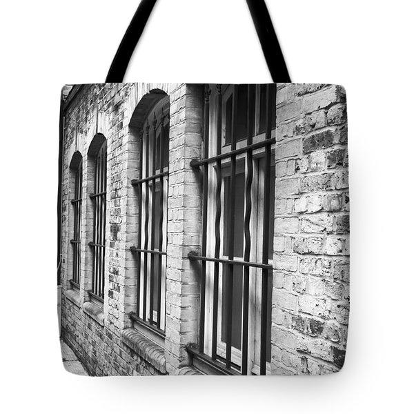 Window Bars Tote Bag by Tom Gowanlock