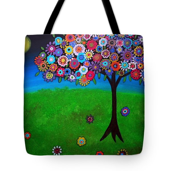 tree of life Tote Bag by PRISTINE CARTERA TURKUS