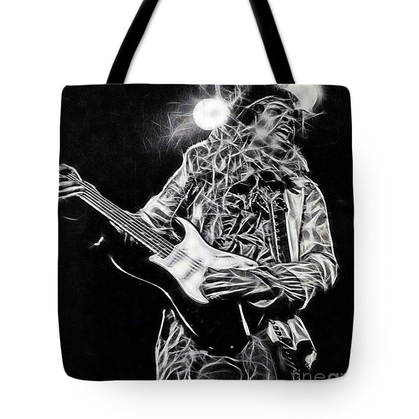 Jimi Hendrix Collection Tote Bag by Marvin Blaine