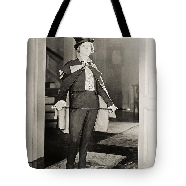 Silent Film Still Tote Bag by Granger