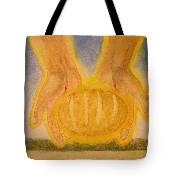 Bread From Heaven Tote Bag by Nigel Wynter