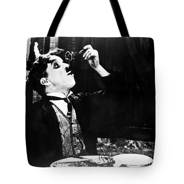 Chaplin: Gold Rush. 1925 Tote Bag by Granger