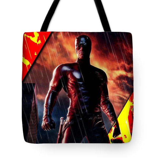 Daredevil Collection Tote Bag by Marvin Blaine