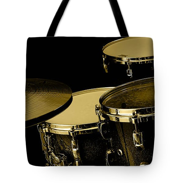 Drums Collection Tote Bag by Marvin Blaine