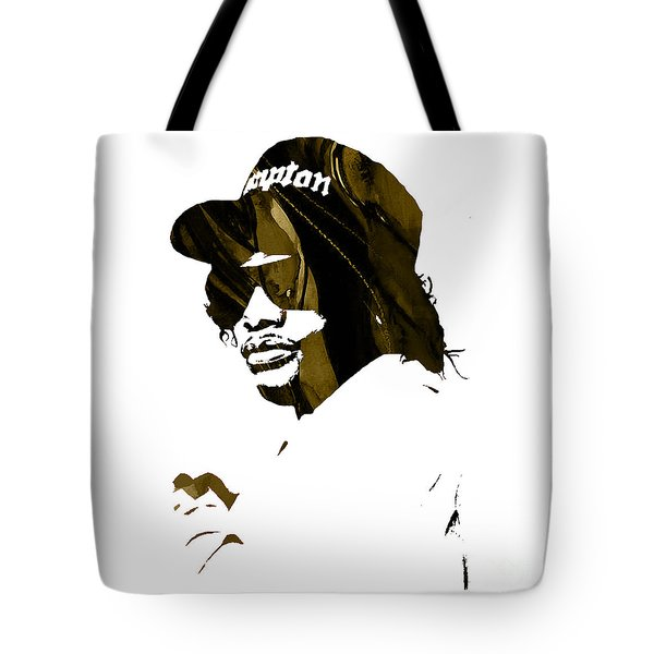 Eazy E Straight Outta Compton Tote Bag by Marvin Blaine
