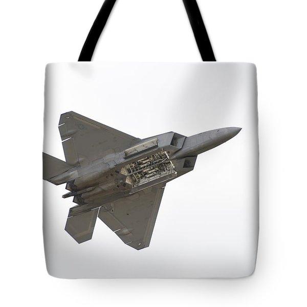 F-22 Raptor Tote Bag by Sebastian Musial