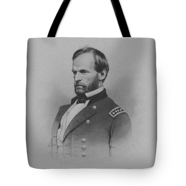 General William Tecumseh Sherman Tote Bag by War Is Hell Store