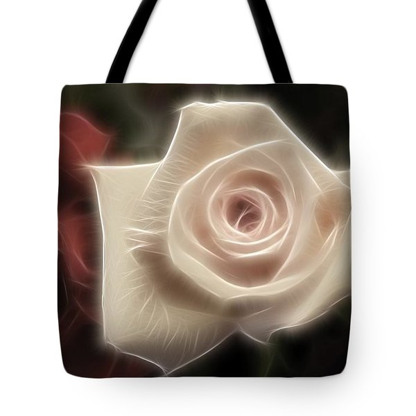 3 little Roses for Patrice Tote Bag by Kevin  Sherf