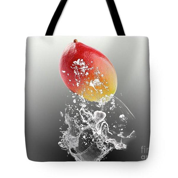 Mango Splash Tote Bag by Marvin Blaine