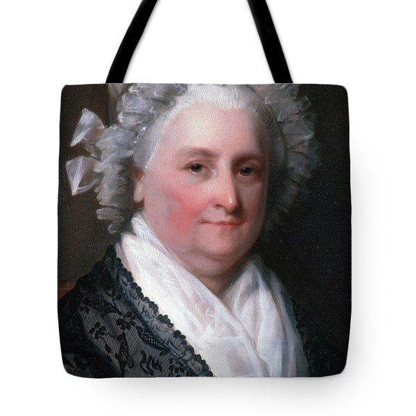 Martha Washington, American Patriot Tote Bag by Photo Researchers