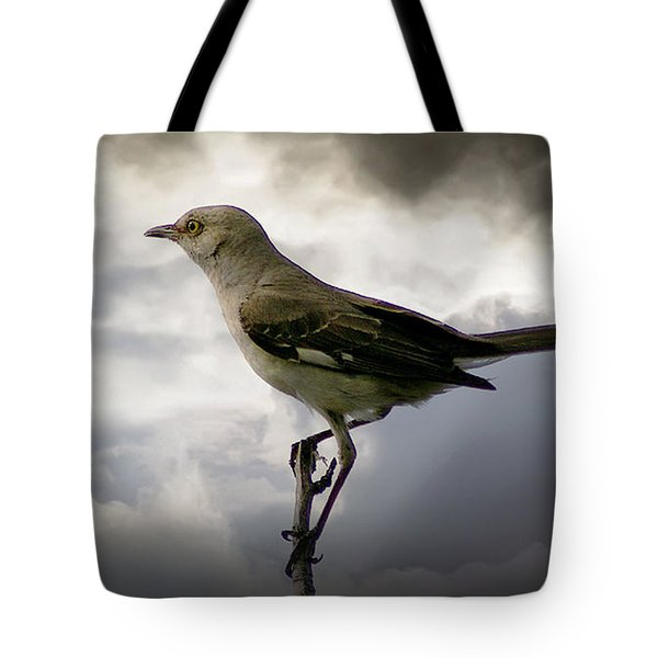 Mockingbird Tote Bag by Brian Wallace