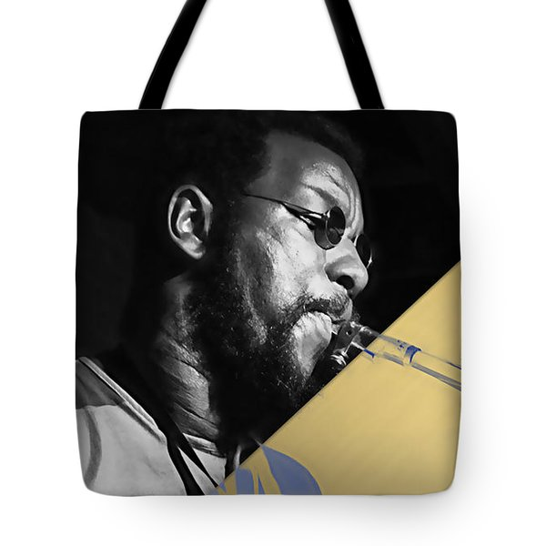 Ornette Coleman Collection Tote Bag by Marvin Blaine
