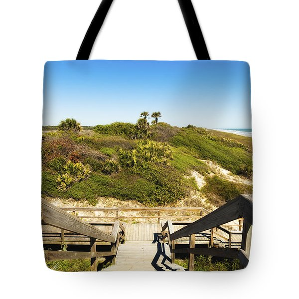 Ponte Vedra Beach Tote Bag by Raul Rodriguez
