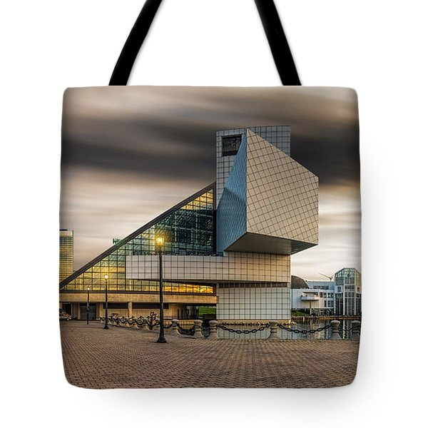 Rock And Roll Hall Of Fame Tote Bag by James Dean