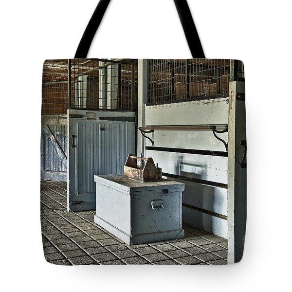 Rustic Stable Tote Bag by John Greim