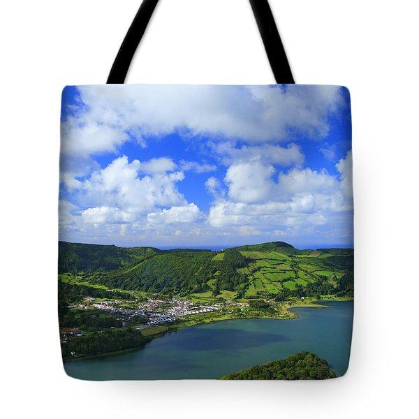 Sete Cidades - Azores Tote Bag by Gaspar Avila