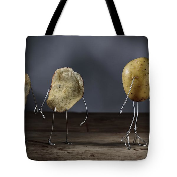 Simple Things - Potatoes Tote Bag by Nailia Schwarz
