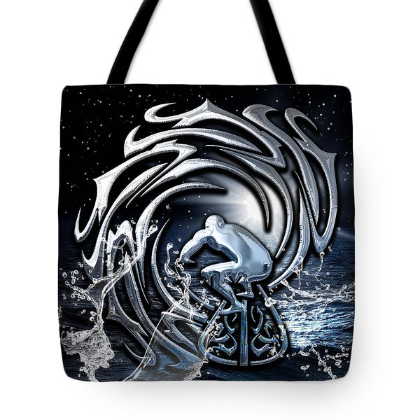Surf's Up Collection Tote Bag by Marvin Blaine