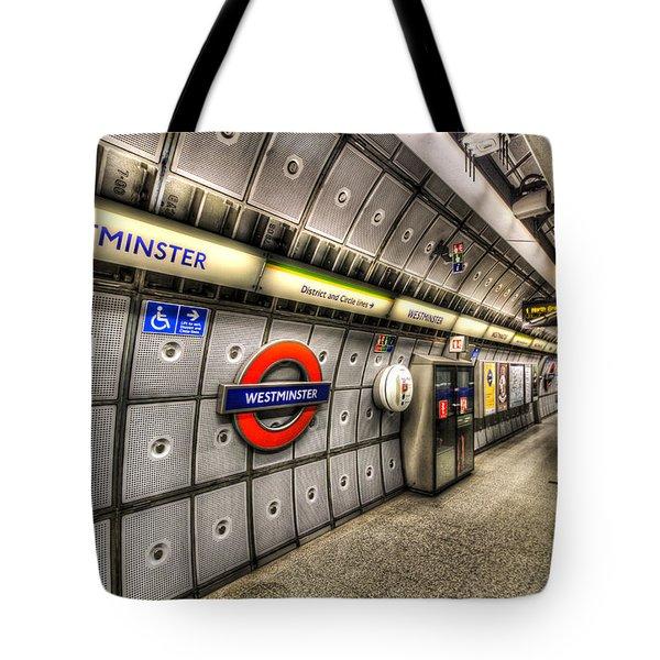 Underground London Tote Bag by David Pyatt