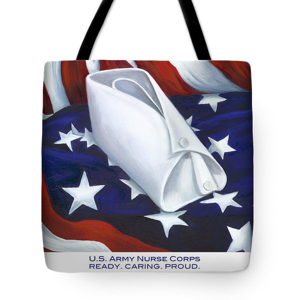 U.s. Army Nurse Corps Tote Bag by Marlyn Boyd