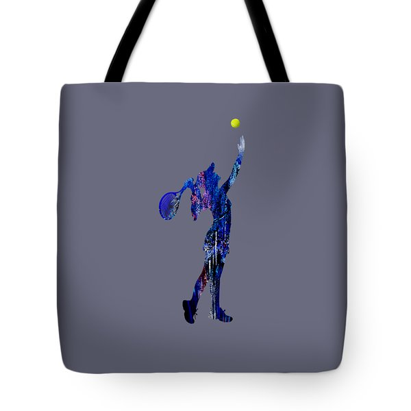 Womens Tennis Collection Tote Bag by Marvin Blaine