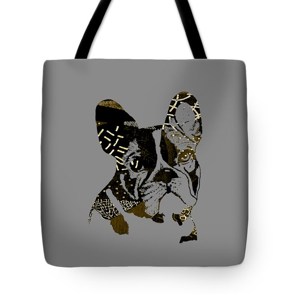 French Bulldog Collection Tote Bag by Marvin Blaine
