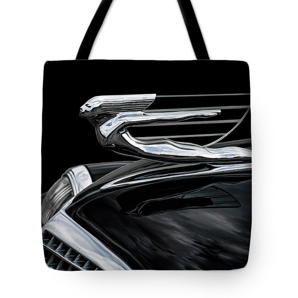 37 Cadillac Hood Angel Tote Bag by Douglas Pittman