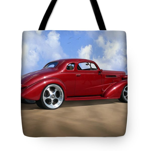37 Chevy Coupe Tote Bag by Mike McGlothlen