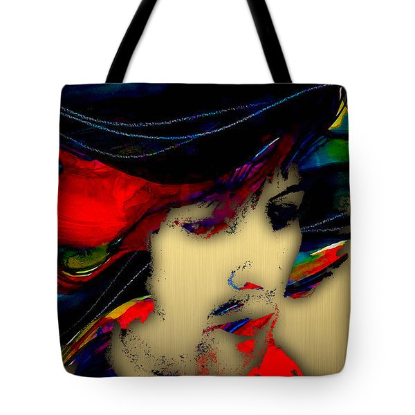 Eric Clapton Collection Tote Bag by Marvin Blaine