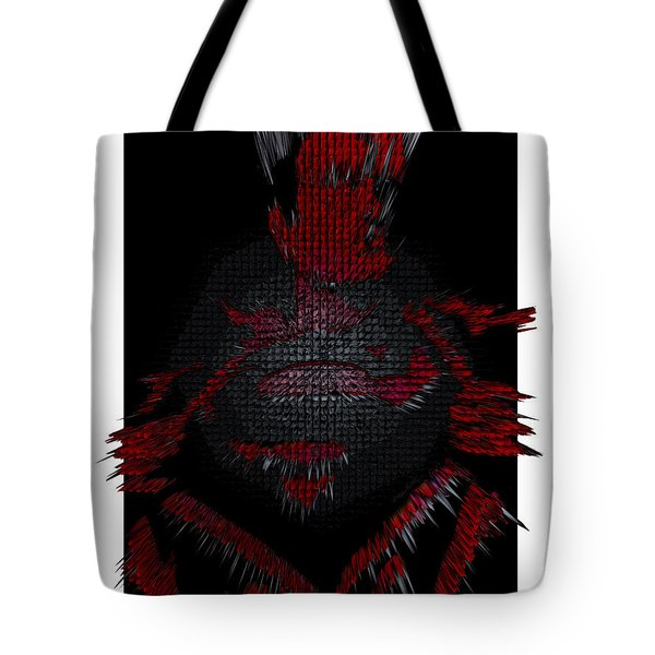 3d Superman After Hours Tote Bag by Robert Margetts