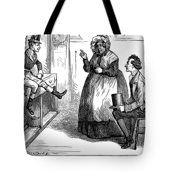 Dickens: Martin Chuzzlewit Tote Bag by Granger