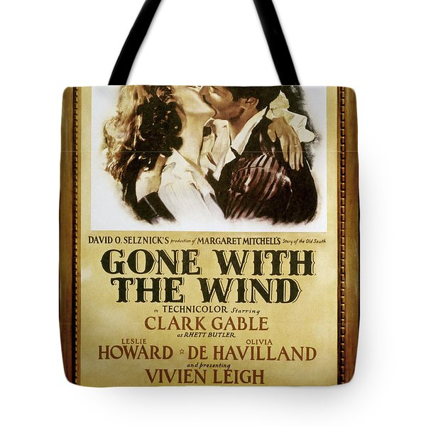 Gone With The Wind, 1939 Tote Bag by Granger
