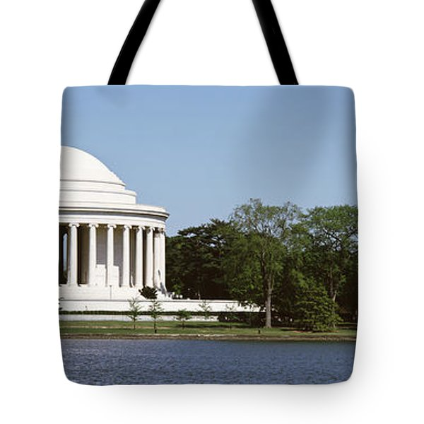 Jefferson Memorial, Washington Dc Tote Bag by Panoramic Images