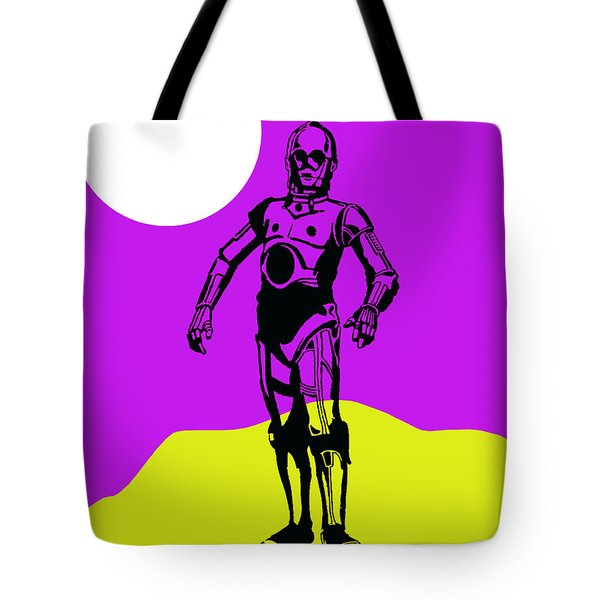 Star Wars C-3po Collection Tote Bag by Marvin Blaine