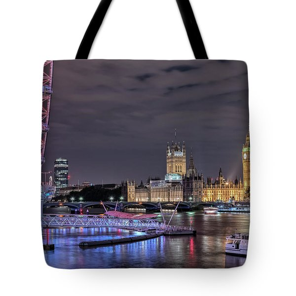 Westminster - London Tote Bag by Joana Kruse