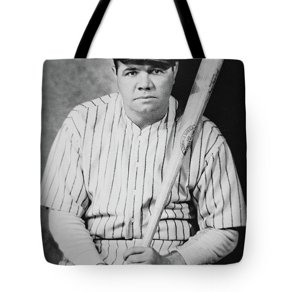 Babe Ruth Tote Bag by American School
