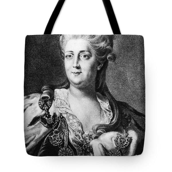 Catherine II (1729-1796) Tote Bag by Granger