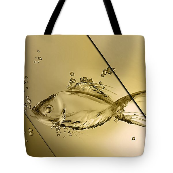 Fish Collection Tote Bag by Marvin Blaine