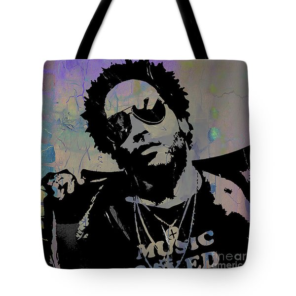 Lenny Kravitz Collection Tote Bag by Marvin Blaine