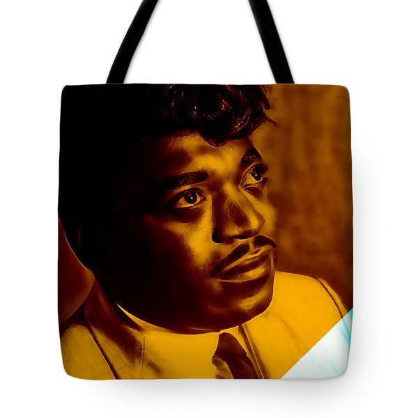 Percy Sledge Collection Tote Bag by Marvin Blaine