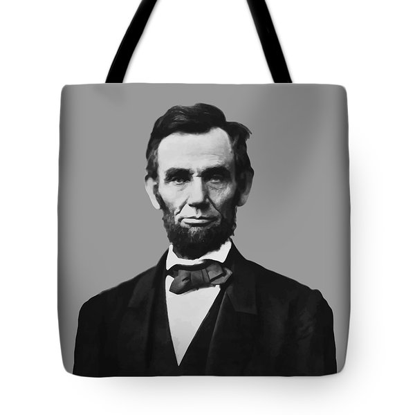 President Lincoln Tote Bag by War Is Hell Store