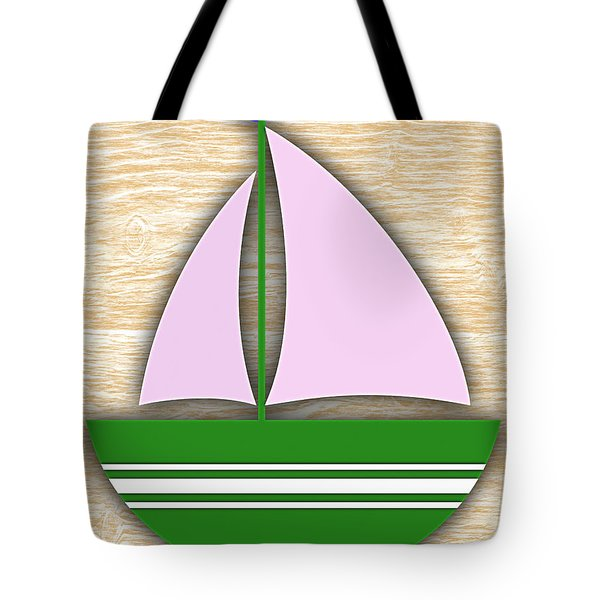 Sailing Collection Tote Bag by Marvin Blaine