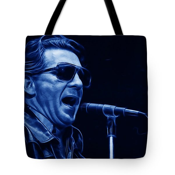 Jerry Lee Lewis Collection Tote Bag by Marvin Blaine