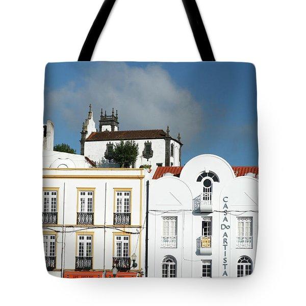 Ponta Delgada - Azores Tote Bag by Gaspar Avila