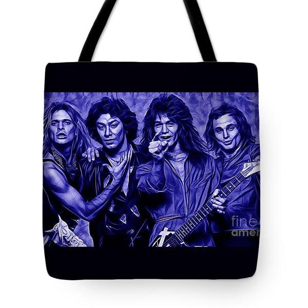 Van Halen Collection Tote Bag by Marvin Blaine