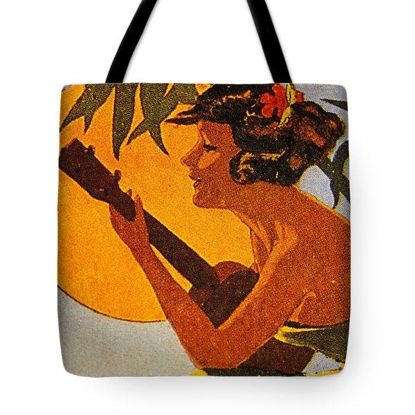 Vintage Hawaiian Art Tote Bag by Hawaiian Legacy Archive - Printscapes
