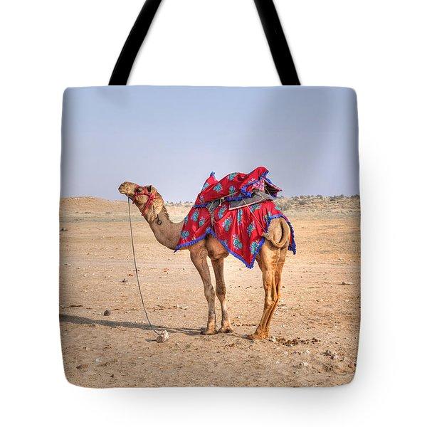 Thar Desert - India Tote Bag by Joana Kruse