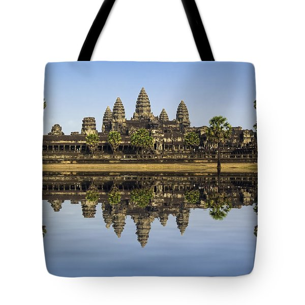 Angkor wat Tote Bag by MotHaiBaPhoto Prints