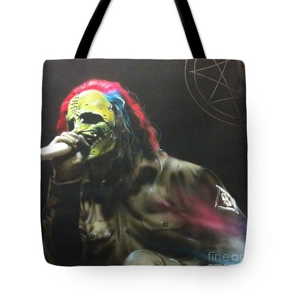 '#8' Tote Bag by Christian Chapman Art