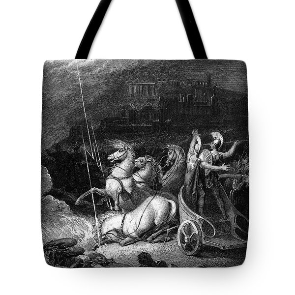 Homer: The Iliad Tote Bag by Granger